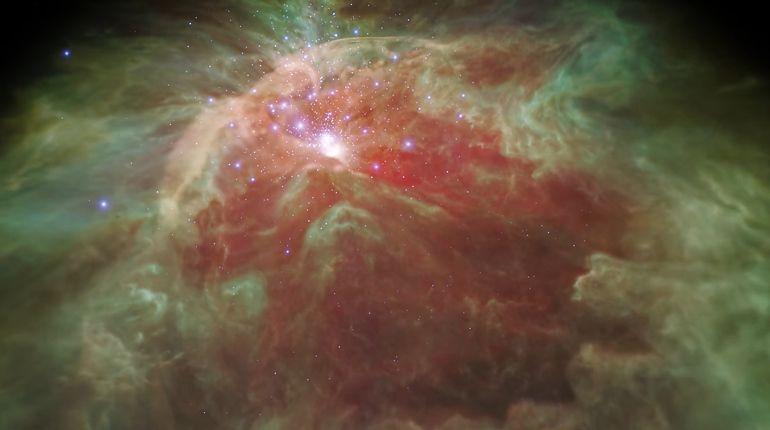 NASA показало Млечный путь изнутри