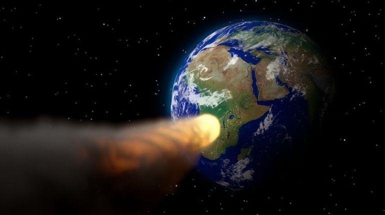 Астрономы докладывают , что в 2075-ом году  наЗемлю рухнет астероид-неведимка
