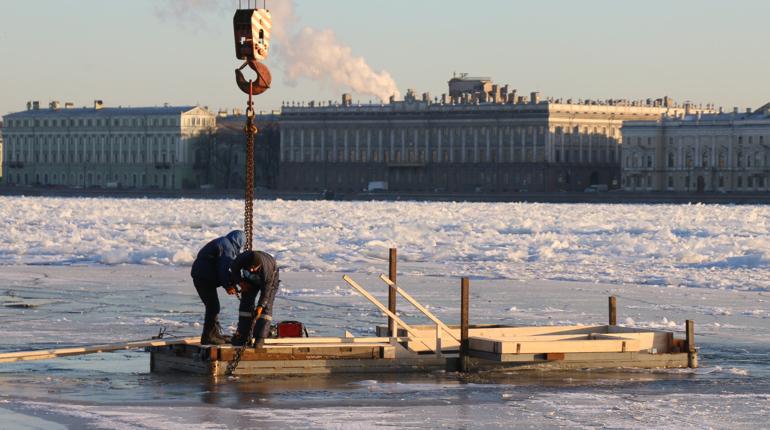 Определены места крещенских купаний в Петербурге