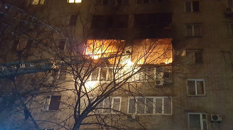 После взрыва газа в Ростове повреждены семь квартир