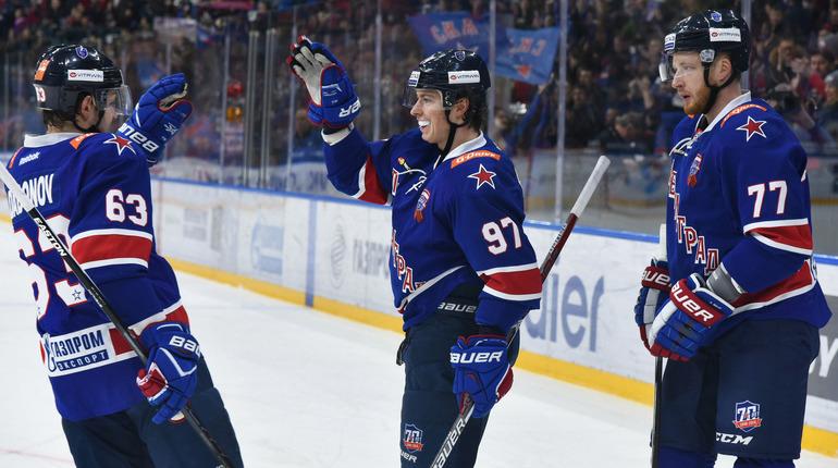 СКА установил рекорд попроценту набранных очков вКХЛ