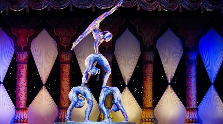 На фестивале в Монте-Карло акробаты Росгосцирка стали вторыми