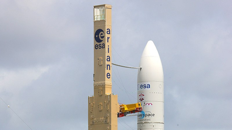 Arianespace потеряла контроль над космической ракетой