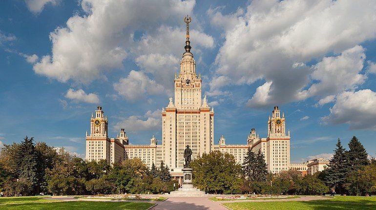 Эвакуировано главное здание МГУ