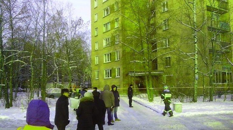 Экстренная эвакуация в многоэтажке Сестрорецка произошла из-за найденной в подъезде мины