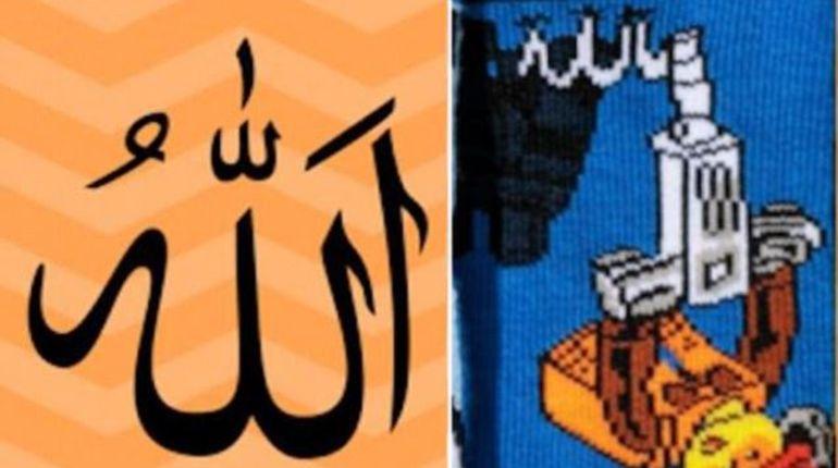 H&M отзывает детские носки снапоминающим арабское слово «Аллах» узором