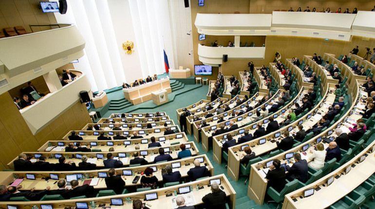 ВСовете Федерации разрабатывают законодательный проект, который закрепит представление «вмешательство всуверенитет страны»