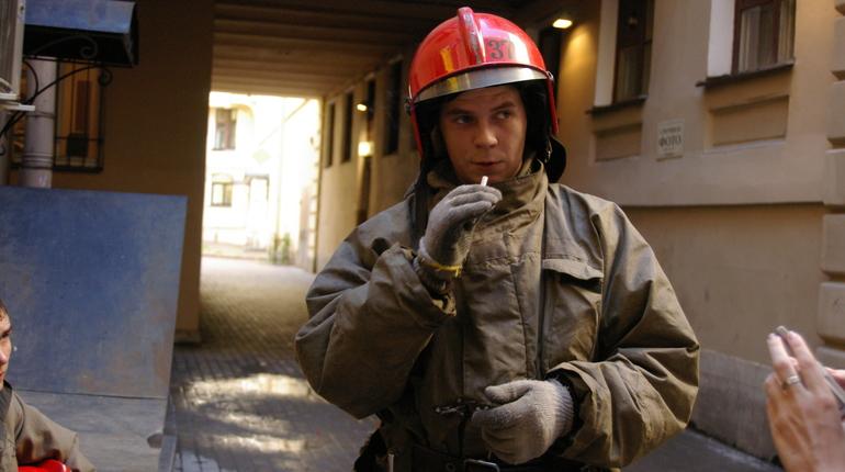Некиношный пожар в красносельском «Ленфильме» удалось локализовать