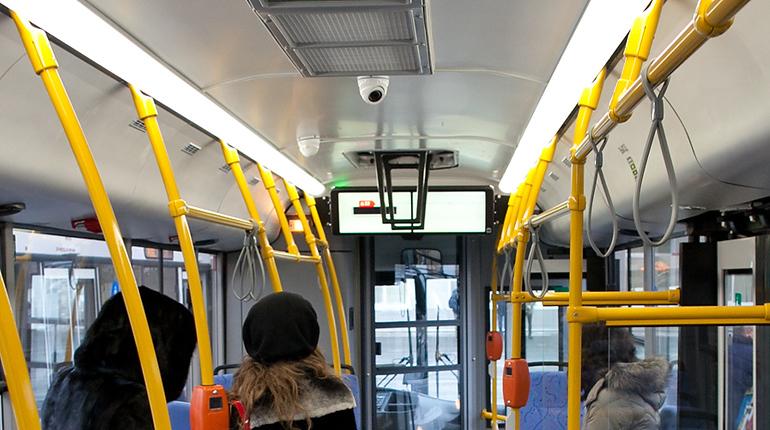 Вавтобусах Санкт-Петербурга появятся системы «умного» видеоконтроля