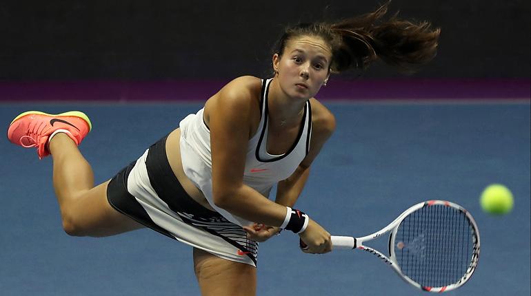 20-летняя русская теннисистка обыграла первую ракетку мира