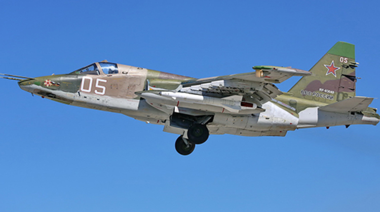 Минобороны пилот сбитого в Сирии Су-25 мертв