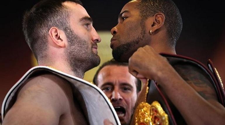 Житель россии  Гассиев нокаутировал кубинца Дортикоса ивышел вфинал глобальной  боксерской суперсерии