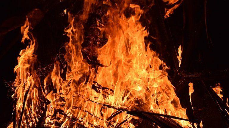 Пожар на рынке под Ростова-на-Дону полностью потушили