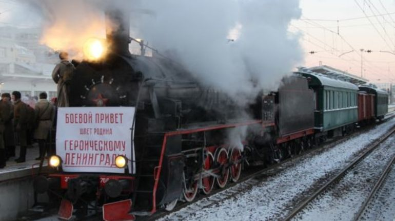 «Поезд Победы» прибудет на Финляндский вокзал