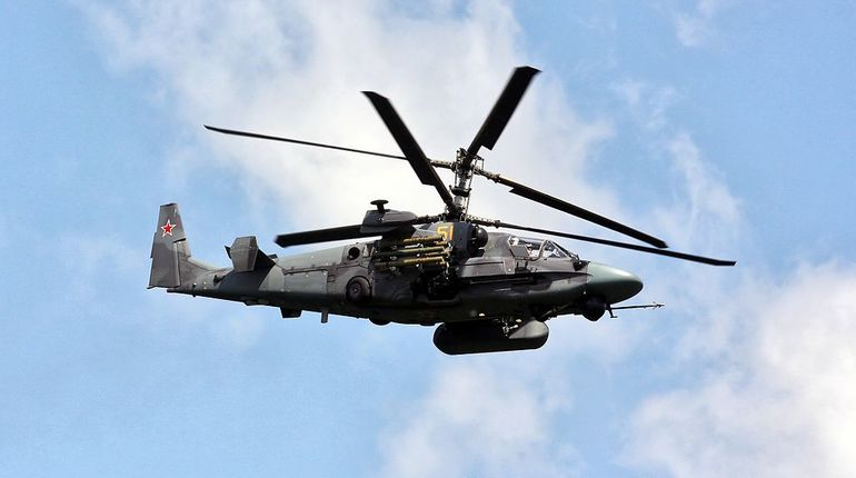 МинобороныРФ планирует закупить 114 военных вертолетов Ка-52 «Аллигатор»
