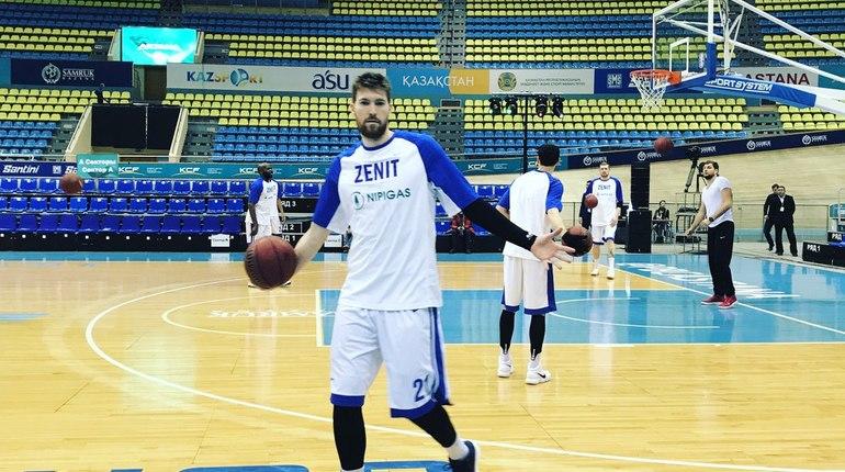Баскетболисты «Астаны» обыграли «Зенит» вматче Единой лиги ВТБ