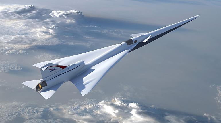 США возобновляют создание сверхзвукового самолета