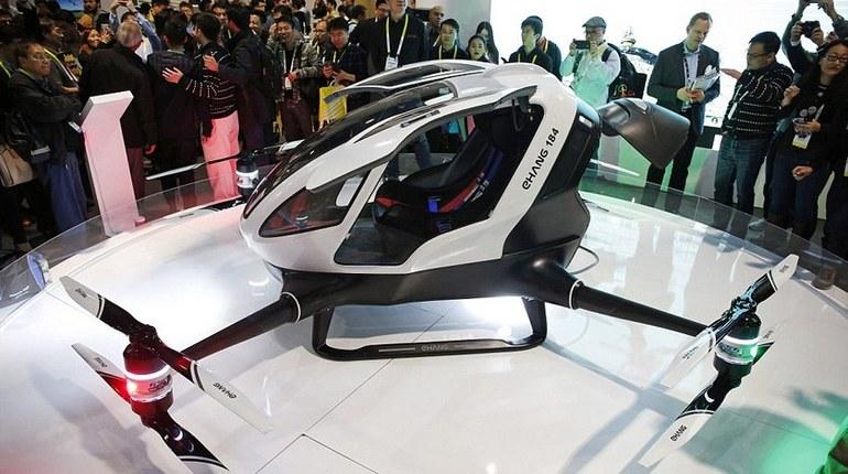 В Дубае появится летающее такси без водителя