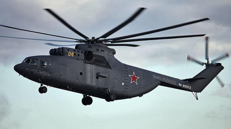 Самый тяжелый вертолет в мире Ми-26Т2В появится к 2019 году