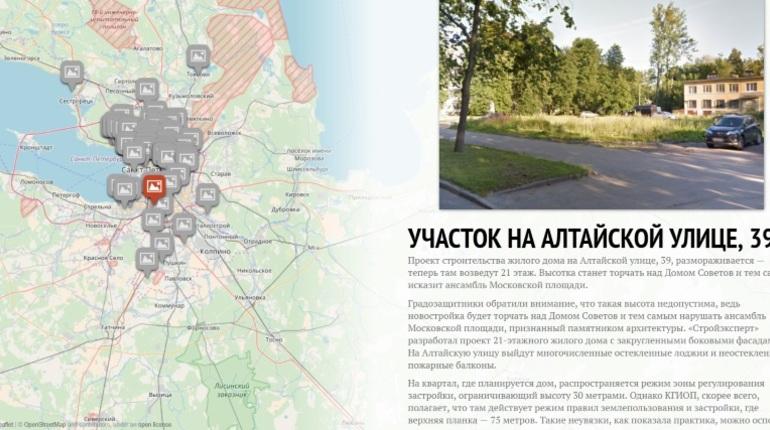 Активисты составили интерактивную карту петербургских парков, которые могут исчезнуть
