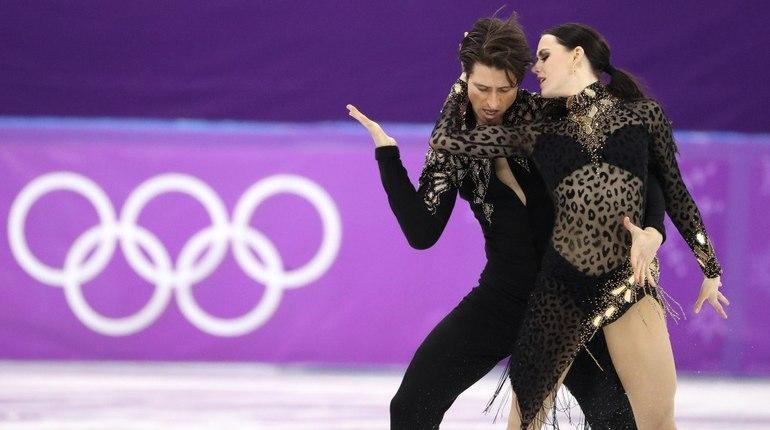 Канадцы Вертью иМоир выиграли короткую программу танцоров срекордом мира