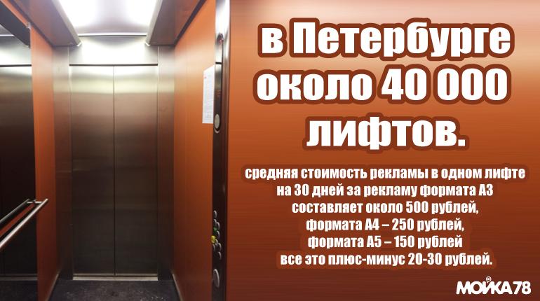 Как незаконная реклама пробирается в лифты