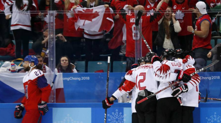 Чехия— Канада. Прямая трансляция хоккейного матча за 3-е место наОлимпиаде