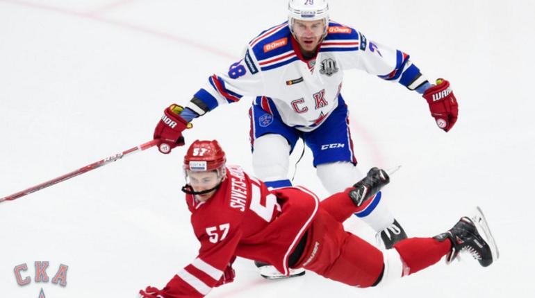 Петербургский хоккейный клуб СКА обыграл соперника в очередном матче КХЛ. На этот раз лед на щите покидали игроки