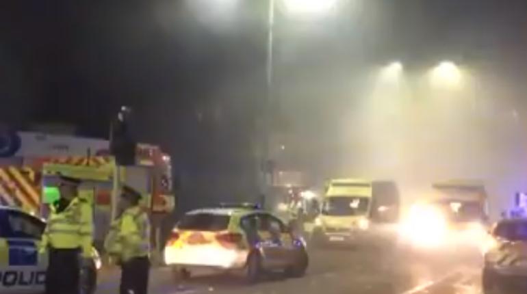 После взрыва вАнглии четыре человека находятся вкритическом состоянии