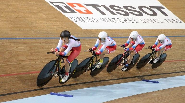 Российской сборной по велотреку вернули потерянные в Париже велосипеды