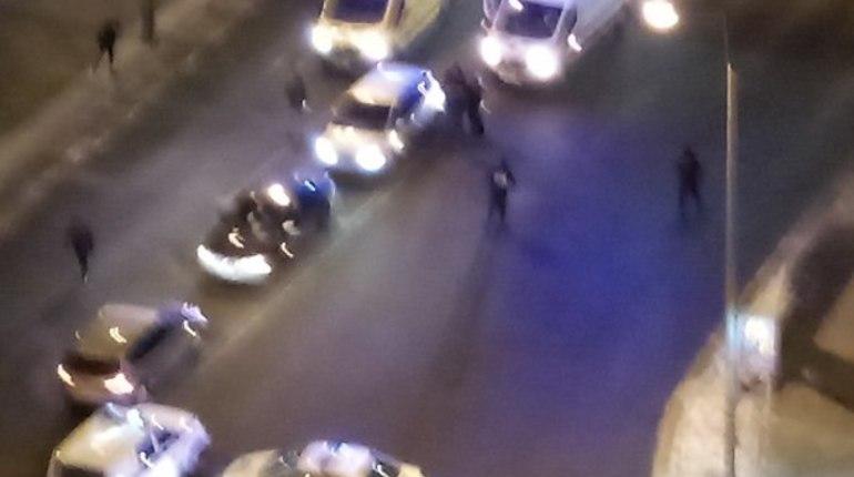 Стрельба под Володарским мостом попала на видео