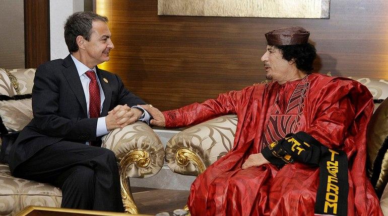 Со счетов погибшего Каддафи исчезли миллиарды евро