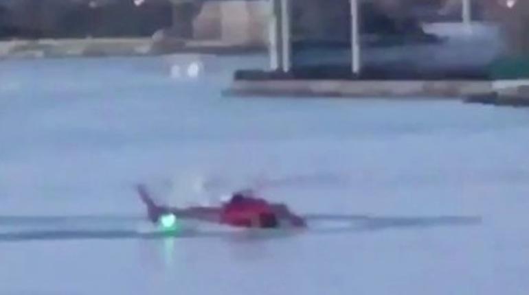 ВНью-Йорке разбился вертолет: все пассажиры погибли