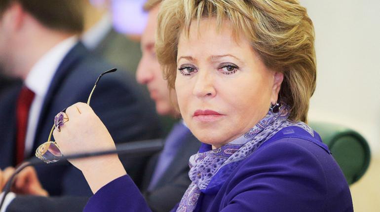 Петербуржцы примут «самое деятельное участие» ввыборах, уверена Матвиенко