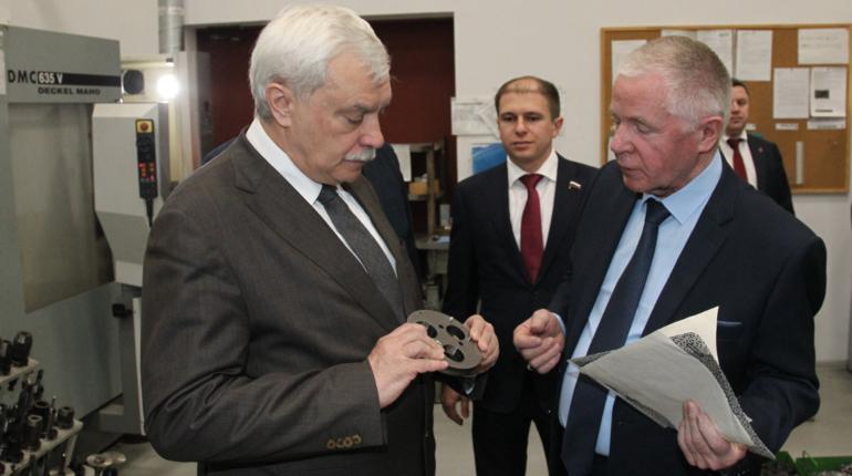Георгий Полтавченко осмотрел цеха завода компании «Возрождение»