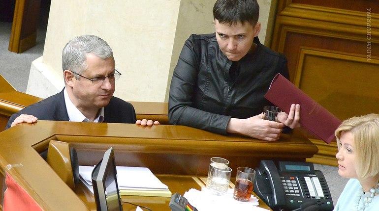 Украинские власти уличили Савченко в подготовке госпереворота