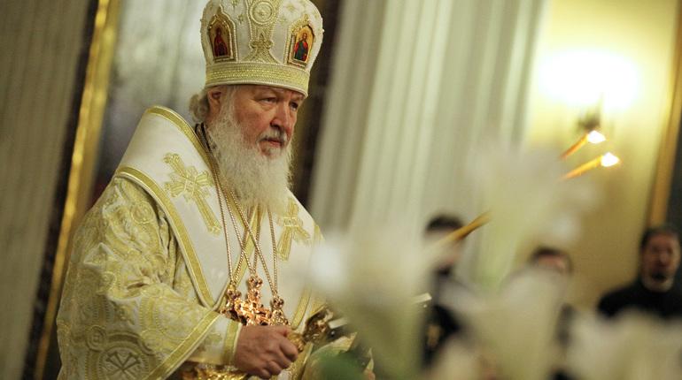 Патриарх Московский ивсея Руси Кирилл проголосовал навыборах президента