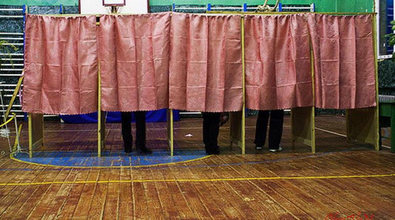 ВКрыму начались первые вистории выборы президента РФ