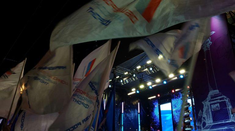 Полтавченко выступил с речью на концерте «Россия. Севастополь. Крым»