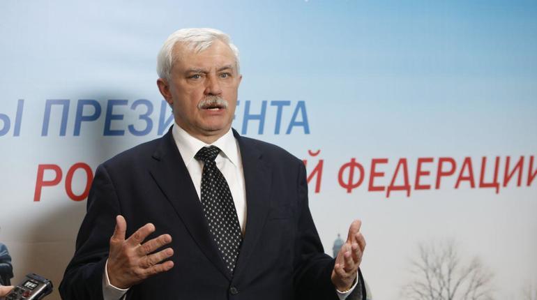 Полтавченко: Благодаря Путину вПетербурге на15 лет возросла длительность жизни