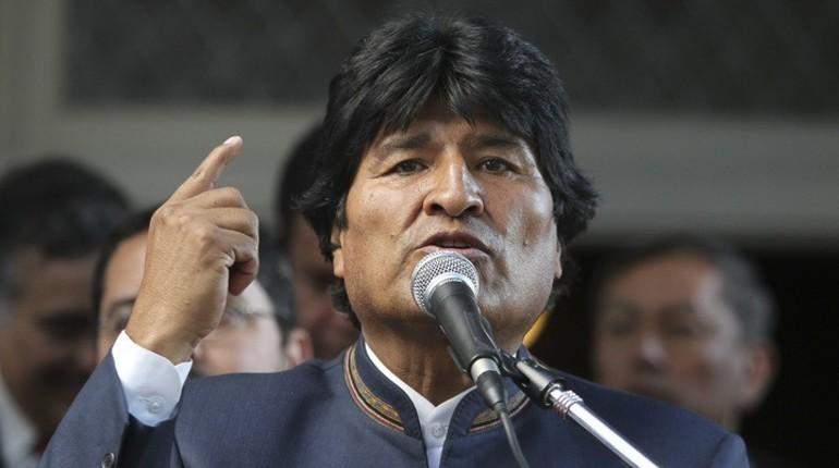 Президент Боливии поздравил Путина
