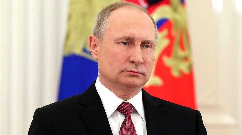 Путин в обращении к нации поблагодарил избирателей