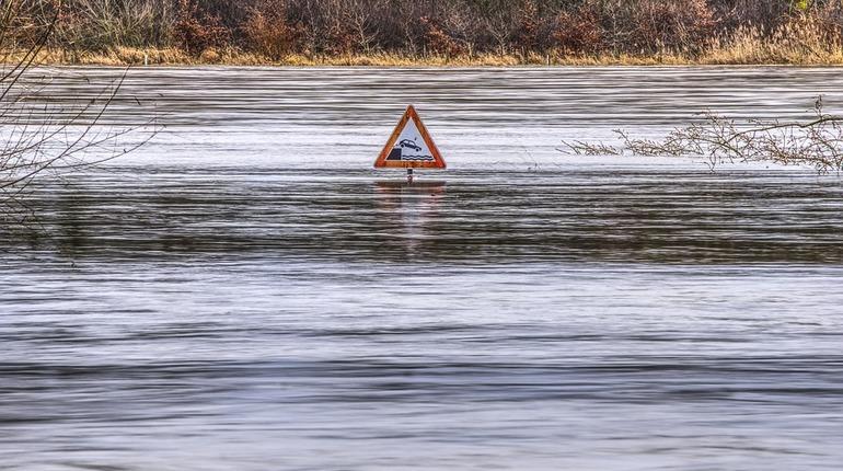Потопы в Европе стали случаться в четыре раза чаще