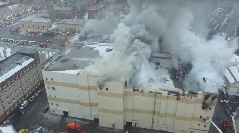ВКемеровской области объявлен трехдневный траур после пожара вТЦ