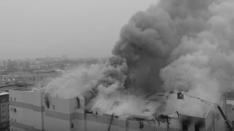 Пожарная сигнализация в сгоревшем торговом комплексе