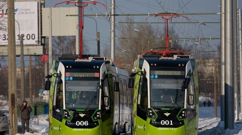 Стало известно, когда откроют остановки для первого частного трамвая «Чижик» вПетербурге