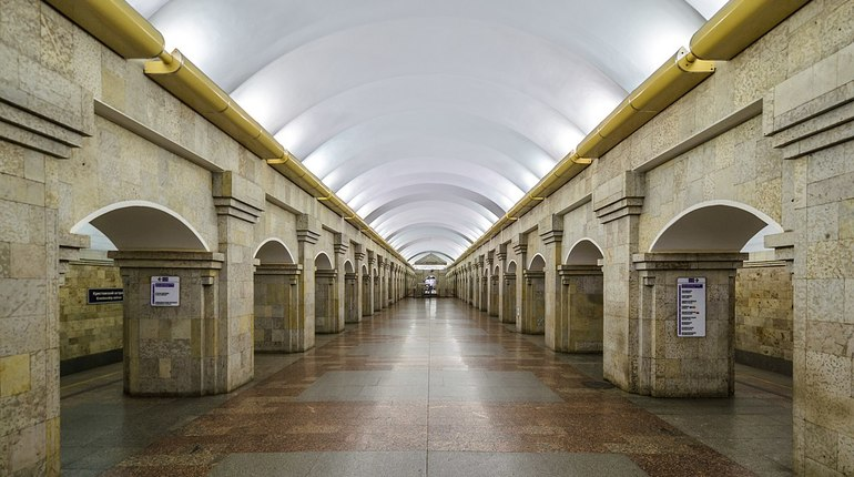 Станция метро «Крестовский остров» закрыта навход из-за футбола