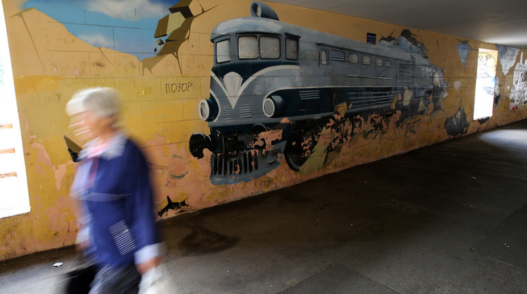 Сотрудниками правоохранительных органов была задержана группа граффитистов, которые как раз собирались разрисовать вагоны электропоезда.