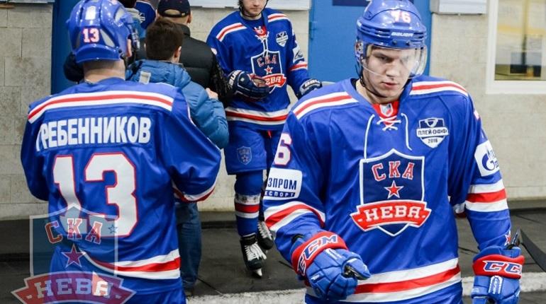 ПетербургскоеХК «Динамо» впервый раз вышло вфинал ВХЛ