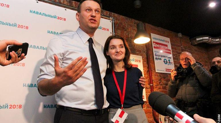 Руководитель штаба Навального вПетербурге покинула собственный пост